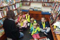 Obisk potujoče knjižnice